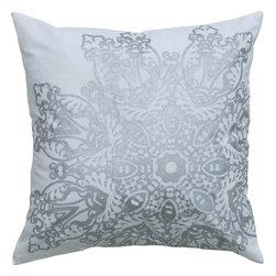 """Rizzy - Rizzy T05007 Pillow, 18"""" x 18"""" - Pillow with Hidden Zipper"""