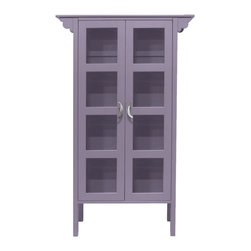Ruby Glass Cabinet - Ruby is a lovely hostess, but content to play the role of innocent bystander too. With her lovely glass doors she is the perfect hostess for showcasing the things that you hold dear. The Ruby Glass Cabinet loves her antique mixing bowls and eclectic pottery.