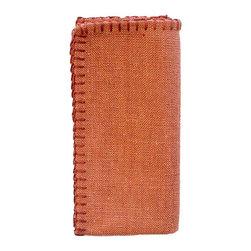 Silverado Home - Linosa Redwood Napkin Set - Sold in Sets of 4: