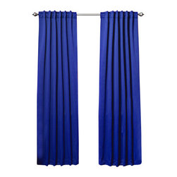 "Best Home Fashion - Solid Backtab Thermal Insulated Blackout Curtains - 1 Pair, Royal Blue, 84"" - Best Home Fashion introduces the new Blackout Curtain. It features innovative fabric construction. Compared to other curtains, our product is extremely SOFT and DRAPERY. The sophisticated designs allow you to decorate your windows with great style. NEVER compare our Blackout Curtains with those cheap ones that are stiff and look like a shower curtain. Blackout is perfect for : Late sleepers Shift workers Seniors Infants & parents Students Computer operators Care instruction : -Machine wash warm with like colors. -Use only non-chlorine bleach when needed. -Tumble dry low. -Warm iron as needed"