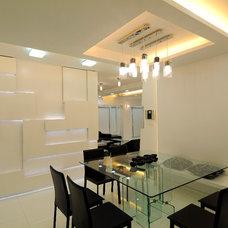 Modern Dining Room by Sonali shah