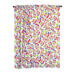 Room Magic - Room Magic Heart Throb Window Panels Curtain Set - RM16-HT - Shop for Window Treatments from Hayneedle.com! The Room Magic Heart Throb Window Panels Curtain Set coordinates with the series' bedding set knobs and accessories for a complete matching look. This adorable designer fabric is covered in graphic swirls of multicolored hearts. At 84 inches long and 59 inches wide the two panels perfectly cover even large windows.About Room MagicRoom Magic doesn't just make children's furniture; they design furniture specifically for children using the magic of childhood imagination and creativity as a guiding principle. Beginning in 1999 with graphic designer Karen Andrea's attempt to create a truly lively and unique room for her five-year-old daughter Sarah the company has maintained a focus on using bright colors and unique themes that steer clear of cliched motifs. Bright and bold playful cut outs decorate the quality hardwood pieces finished with beautiful stains. With collections that are geared both to boys and to girls Room Magic provides the furniture accessories and bedding you need to bring the magical fun of childhood to your kids' rooms.