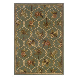 Sphinx - Sphinx Hudson 1369d Rug - 3 ft 10 in x 5 ft 5 in - Oriental Weavers Sphinx Hudson 1369d Area Rug . Affordable elegance at its best, Hudson pairs sophisticated, traditional to casual designs with modern colorways, including a true red and a pure ivory, as well as organic hues of green, blue, and terra cotta. Machine woven of heat-set polypropylene, Hudson is rich in style and value.Construction: Machine Made of PolypropylenePile Height: 1/8 in to 1/4 inColors may differ slightly from Website.