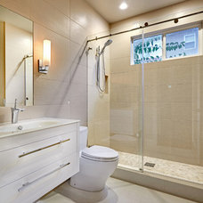 Contemporary Bathroom by Nicolette Patton, CKD