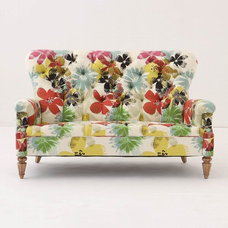eclectic love seats by Anthropologie