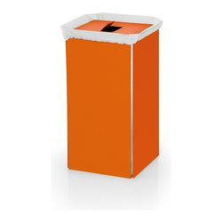 WS Bath Collections - Bandoni 53443.15 Laundry Basket in Orange - Bandoni 53443.15 Laundry Basket in Orange by WS Bath Collections