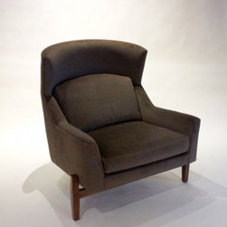 "Decor NYC Consignment Archive, JENS RISOM ""BIG CHAIR"" from Pucci Chair - SOLD - MINT CONDITION JENS RISOM ""Big Chair"""
