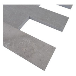 Sample Brushed Stone Lady Gray 2x8 Marble Tile, 1 Piece - Sample-Brushed Stone Lady Gray 2x8 Marble Pattern 1 Piece Sample Please note you are purchasing 1 piece sample. -Glass Tiles -