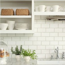 Dream Book Design: Kitchen Makeover: White Subway Tile Backsplash