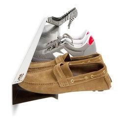 j-me Horizontal Stainless Steel Wall-mount Shoe Rack -