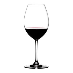 Crystal of America/Riedel - Riedel Vinum XL Syrah/Shiraz Wineglass, Set of 2 - Pour on pure style and enviable luxury. This pair of lead crystal glasses enhances the look of your table and your enjoyment of the wine.