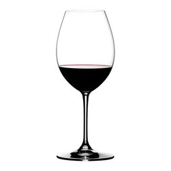 Riedel - Riedel Vinum XL Syrah/Shiraz - Pour on pure style and enviable luxury. This pair of lead crystal glasses enhances the look of your table and your enjoyment of the wine.