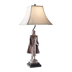 Murray Feiss - Murray Feiss 10211MNGC 1 Bulb Mongolian Clay Table Lamp - Murray Feiss 10211MNGC 1 Bulb Mongolian Clay Table Lamp