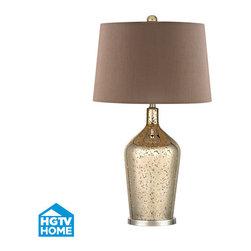 Dimond Lighting - Dimond Lighting HGTV355 Pershore 1 Light Table Lamp - Features: