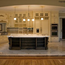 Mediterranean Kitchen Cabinetry by A-C CABINETS