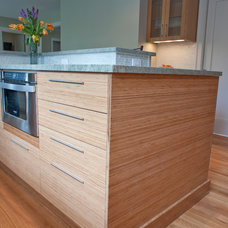 Transitional Kitchen by Don Foote Contracting