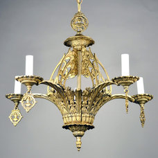 traditional chandeliers by Carlson Galleries