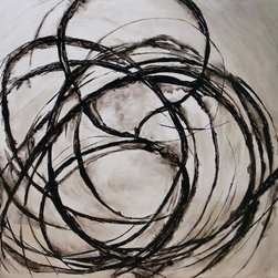 Divine Chaos III Artwork - 40 X 40 Divine Chaos III