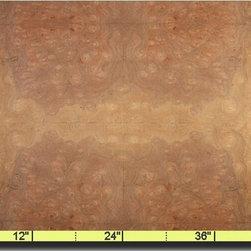 Oakwood Veneer - Robel Burl - A sample of Robel burl.