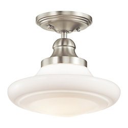 Kichler Lighting - Kichler Lighting 42269NI Keller Transitional Pendant Light - Kichler Lighting 42269NI Keller Transitional Pendant Light