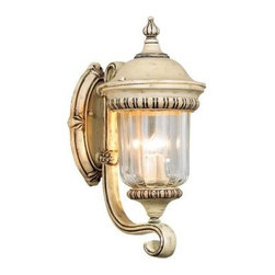 Unbranded - Unbranded Oakville Collection 3-Light Outdoor Medium Taupe Sconce 12904-013 - Shop for Lighting & Fans at The Home Depot. Solid weather resistant iron framework defines the Oakville collection. Scroll designs boldly accentuate each frame of clear glass in this visionary creation. Mounting hardware included for quick installation.