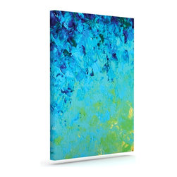 """Kess InHouse - Ebi Emporium """"True Reflection"""" Wrapped Art Canvas (12"""" x 10"""") - Bring your outdoor patio to life with this artistic outdoor canvas wrap featuring gorgeous artwork by KESS InHouse. These canvases are not only easy to hang and remove but also are the perfect addition to your patio collection. These canvases are stretched around a wooden frame and are built to withstand the elements and still look artistically fabulous. Decorating your patio and walls with these prints will add the splash of art and color that is needed to bring your patio collection together! With so many size options and artwork to choose from, there is no way to go wrong with these KESS Canvas Wraps!"""