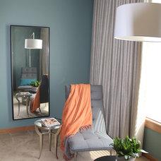 Modern Bedroom by Gunkelmans Interior Design