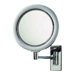 Decor Walther - Decor Walther BS 14/V Cosmetic Mirror - The BS 14/V cosmetic mirror has been designed and made by Decor Walther.   With vanity mirror BS 14/V Decor Walther completed its wide range of  wall vanity mirror with integrated lighting in contrast to the other  wall mirror the BS - series, the German manufacturer is here fully to  the maximum magnification: The mirrors are made with a 7-fold  magnification, and there by allow a sharp and precise view. this  especially useful if you want to perform its tasks especially cosmetic  accurately thoroughly. thus, at this magnification and everything stays  nice and visible, Decor Walther has the BS 14/V equipped with LED  lighting. This work with a very natural looking light (daylight white),  so that natural skin tones are not falsified.  Product Details:  The BS 14/V cosmetic mirror has been designed and made by Decor Walther.   With vanity mirror BS 14/V Decor Walther completed its wide range of  wall vanity mirror with integrated lighting in contrast to the other  wall mirror the BS - series, the German manufacturer is here fully to  the maximum magnification: The mirrors are made with a 7-fold  magnification, and there by allow a sharp and precise view. this  especially useful if you want to perform its tasks especially cosmetic  accurately thoroughly. thus, at this magnification and everything stays  nice and visible, Decor Walther has the BS 14/V equipped with LED  lighting. This work with a very natural looking light (daylight white),  so that natural skin tones are not falsified.  In additional to  the 7-flod increase in both side mirrors also have a page with a simple  mirror surface without magnification. Through a simple rotation of the  mirror head can be no time lost between the two side mirror switch.                                      Manufacturer:                                      Decor Walther                                                                  Designer:                         