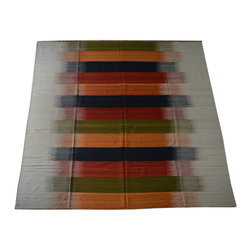 1800-Get-A-Rug - Oriental Rug Striped Durie Kilim Hand Woven Flat Weave Sh10528 - About Flat Weave