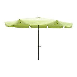 International Caravan - International Caravan 8' Patio Umbrella with Tilt and Crank (3M Diameter) - International Caravan - Patio Umbrellas - YF1104/3M/X