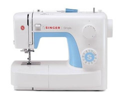 Singer Sewing Co - Singer 3221 Simple Sewing - Singer 3221 Simple Sewing Machine -Automatic Needle Threader 21 Built-In Stitches 1 Fully Automatic 1-Step Buttonhole