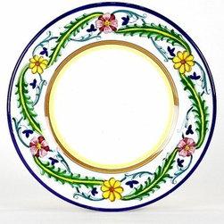 Artistica - Hand Made in Italy - Corona: Salad Plate - Corona Collection.