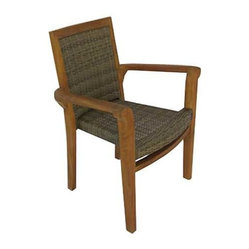 Panama Jack Leeward Islands Stackable Armchair