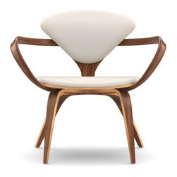 Cherner Chair Company - Cherner Upholstered Lounge Chair with Arms | Cherner Chair Company - Design by Benjamin Cherner, 2002.