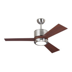 """Monte Carlo - Monte Carlo Vision II 3 Bladed 42"""" Indoor Ceiling Fan - LED Light Kit and Blades - Features:"""