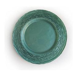 Jay Companies - Arizona Blue Glass Charger - Arizona Blue Glass Charger