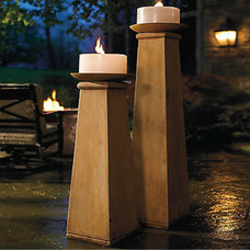 contemporary candles and candle holders by FRONTGATE