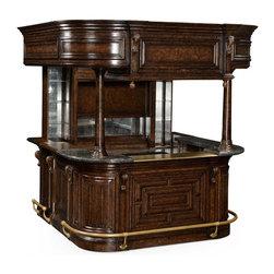 Jonathan Charles - Jonathan Charles Home Bar Tudor Oak - Product Details