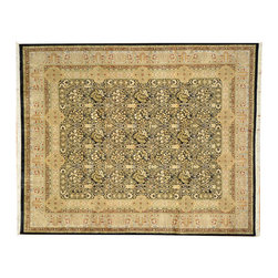 Hand Knotted 100% Wool Oriental Rug, 300 Kpsi 8'X10' Fine Pak-Persian Rug SH7175 - This collection consists of fine knotted rugs.  The knots per square inch means more material in the rug as well as more labor.  This leads to a finer rug and a more expoensive rug.  Classical and traditional persian motifs are usually used as designs in these rugs.