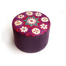Mediterranean Ottomans And Cubes by Ashlina Kaposta
