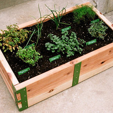 Modern Outdoor Planters by Scout Regalia