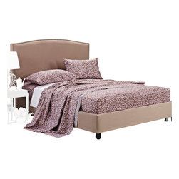"""300 Thread Count Cotton Western Sheet Set - Twin XL - The Western Sheet Set features a decorative floral pattern on a purple background. This sheet set brings style and elegance to your bedroom. Luxury at an affordable price! Set includes: (1) Fitted 39""""x80"""", (1) Flat 66""""x100"""", and (1) Pillowcase 20""""x30""""."""