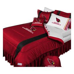 Store51 LLC - NFL Arizona Cardinals Football Team 4 Piece Twin Bedding Set - Features: