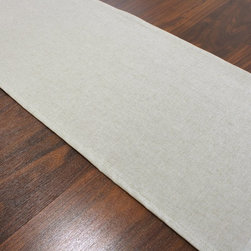Chooty & Co. - Chooty and Co. Victory Lane River Rock 12.5 x 72 Lined Table Runner in Linen Nat - Shop for Runners from Hayneedle.com! Bring the casual refreshing look of natural linen right to your table with the Chooty and Co. Victory Lane River Rock 12.5 x 72 Lined Table Runner in Linen Natural. With a natural linen color this 55% linen/45% rayon table runner adds a casual comforting vibe to any meal of the day - not to mention a great setting for your favorite centerpiece. The runner is top-stitched with a classic knife edge and is hand wash or spot clean. Made in the USA. Indoor use only.About Chooty & Co.A lifelong dream of running a textile manufacturing business came to life in 2009 for Connie Garrett of Chooty & Co. This achievement was kicked off in September of '09 with the purchase of Blanket Barons well known for their imported soft as mink baby blankets and equally alluring adult coverlets. Chooty's busy manufacturing facility located in Council Bluffs Iowa utilizes a talented team to offer the blankets in many new fashion-forward patterns and solids. They've also added hundreds of Made in the USA textile products including accent pillows table linens shower curtains duvet sets window curtains and pet beds. Chooty & Co. operates on one simple principle: What is best for our customer is also best for our company.