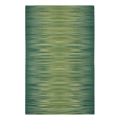 Flash rug in Amazon - Make your home the star with Flash, an updated version on the Ikat pattern.  Giving a Chic Ombre vibe, these fashionable colors make a bold statement in many areas of a home.