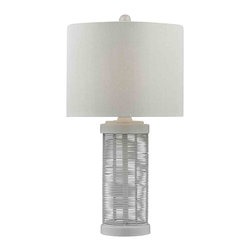 Dimond Lighting - Dimond Lighting HGTV132 HGTV Home Gloss White Table Lamp - Dimond Lighting HGTV132 HGTV Home Gloss White Table Lamp