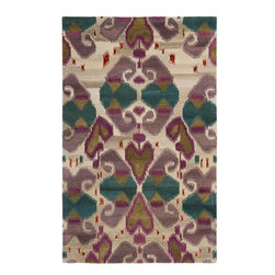 Safavieh - Contemporary Wyndham Square 7' Square Ivory - Multi Color Area Rug - The Wyndham area rug Collection offers an affordable assortment of Contemporary stylings. Wyndham features a blend of natural Ivory - Multi Color color. Hand Tufted of Wool the Wyndham Collection is an intriguing compliment to any decor.