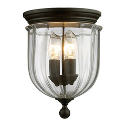 Z-Lite - Z-Lite 140F Warwick 3 Light Flush Mounts in Bronze - This 3 light Flush Mount from the Warwick collection by Z-Lite will enhance your home with a perfect mix of form and function. The features include a Bronze finish applied by experts. This item qualifies for free shipping!