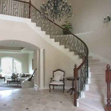 Traditional Staircase by Fatter & Evans Architects, Inc.