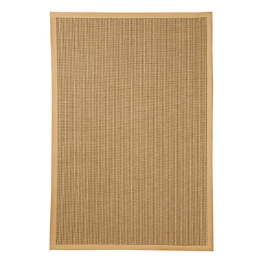 Natural Area Rugs - NaturalAreaRugs Handcrafted Crossroads Sisal Rug, 3 Ft. X  5 Ft. - Free & Same Day Shipping within Continental USA. International Shipping Available (Contact us for a quote). 100% Natural sisal rug, handcrafted in USA by Artisan rug maker. Naturally durable and anti-static, this earth friendly rug is great for high traffic areas. Enjoy this sisal rug with cotton border and non-slip latex backing along with its stylish and contemporary look. Variations are part of the natural beauty of natural fiber. We recommend a rug pad as it will protect not only your rug but your hardwood floor as well.